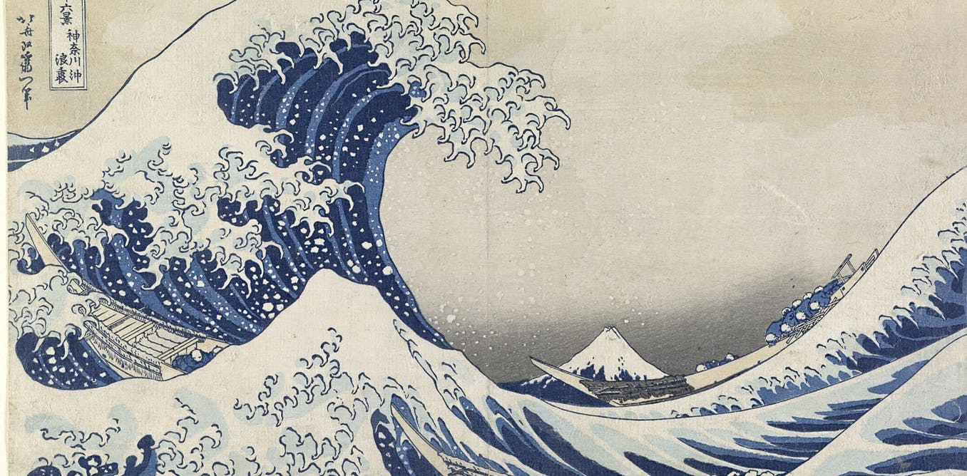 friday essay from the great wave to starry night how a blue  friday essay from the great wave to starry night how a blue pigment changed the world