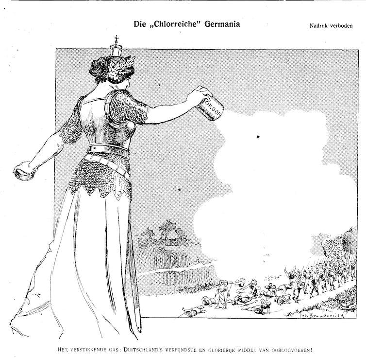 De Groene Amsterdammer, May 9, 1915. Photo credit: De Groene Amsterdammer Archive.