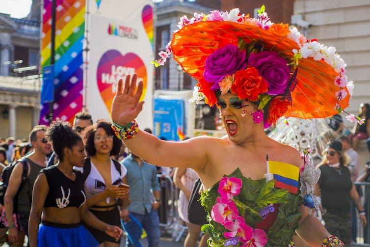 Proud in London. Credit: Flickr/danoliverm