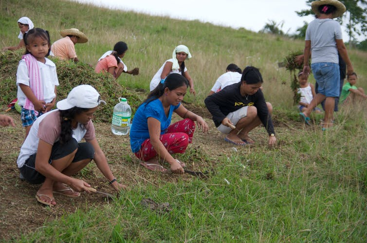 Extreme weather and conflict have a particularly accute impact on female farmers in the Philippines. PWRDF, CC BY-SA