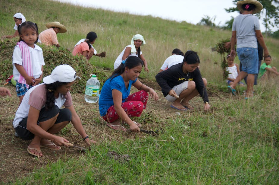 In Philippines, climate change and conflict both conspire against