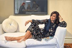 Picture of Lisa Wilkinson AM, oil on linen