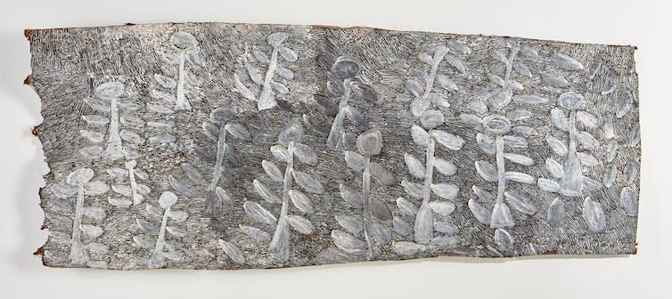 Image of Wynne Prize 2017 finalist. Nyapanyapa Yunupingu,'Landscape'