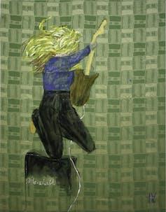 Image of Jenny Watson Rock Star
