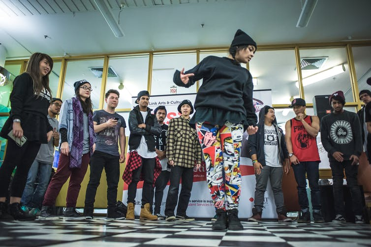 Its accessibility and inclusivity makes hip hop an effective therapeutic tool for working with young people. Photo credit: Michelle Grace Hunder