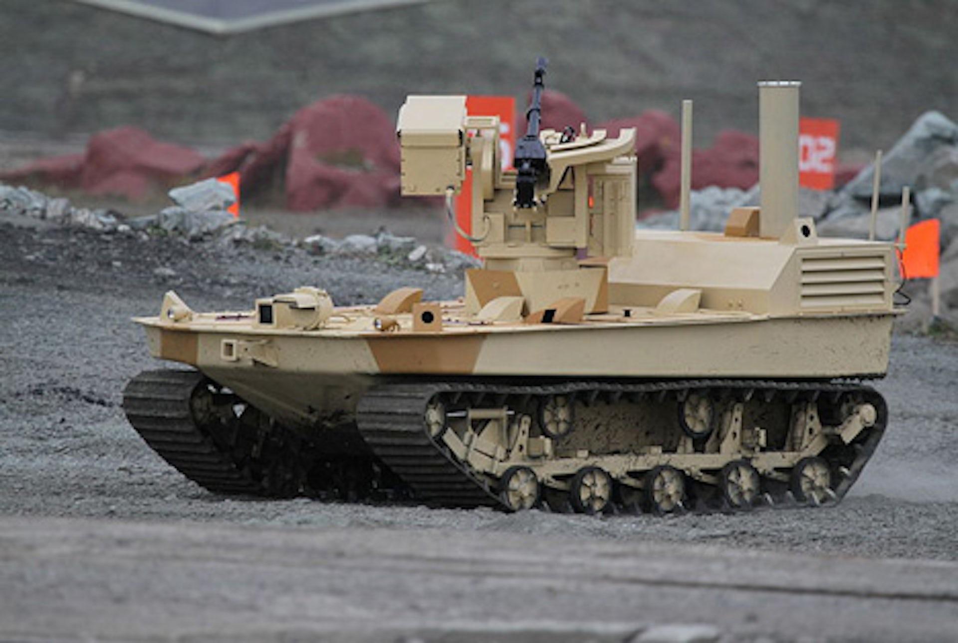 Robots armés autonomes : l'art de la guerre en mutation