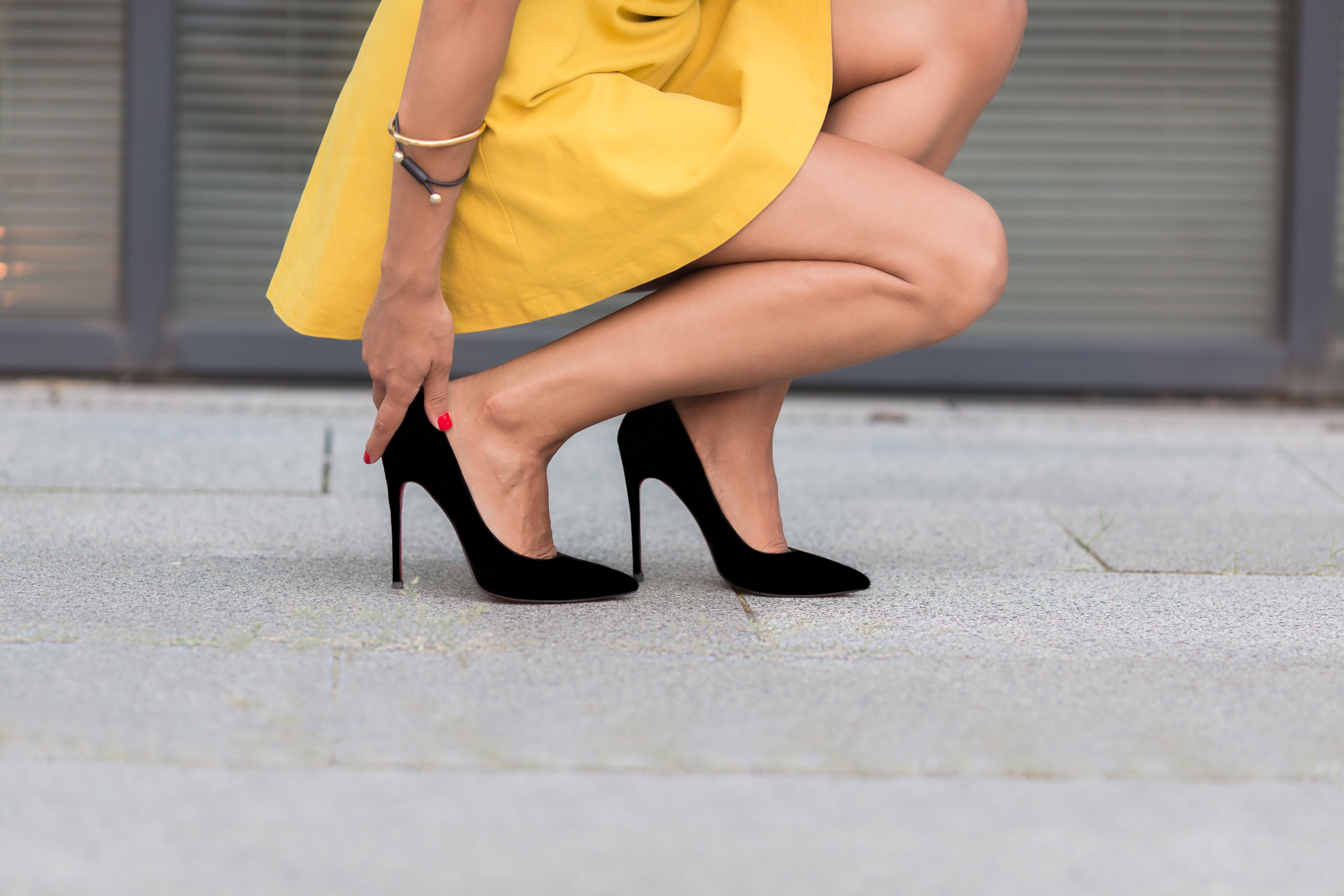 Are high heels bad for your health? Two