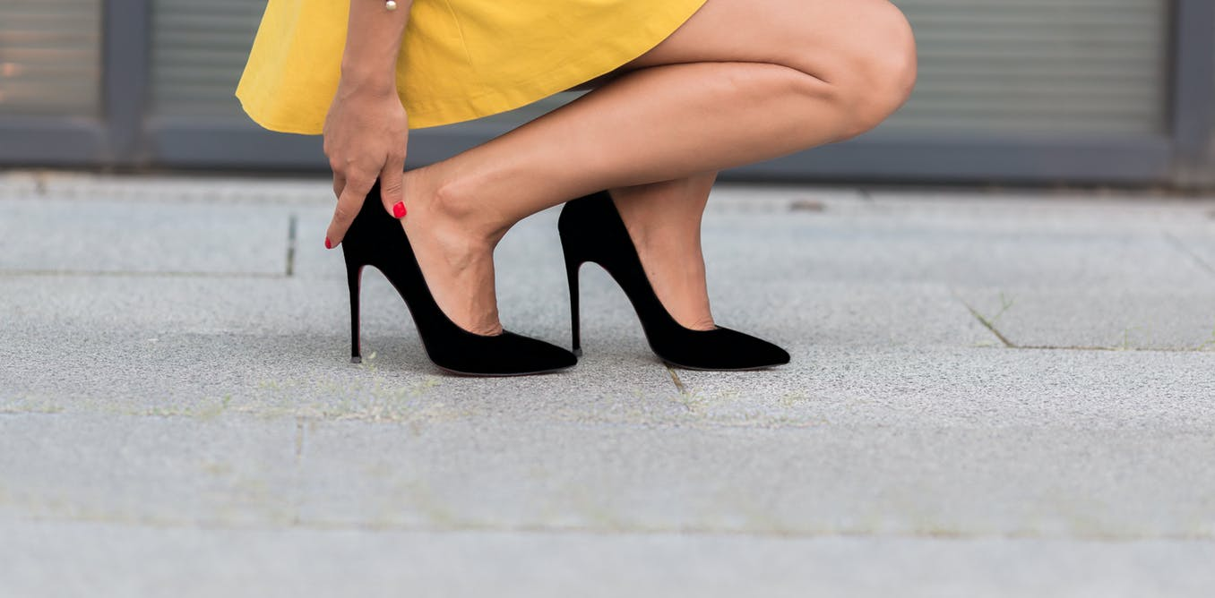 High heeled shoes – News, Research and Analysis – The Conversation ...