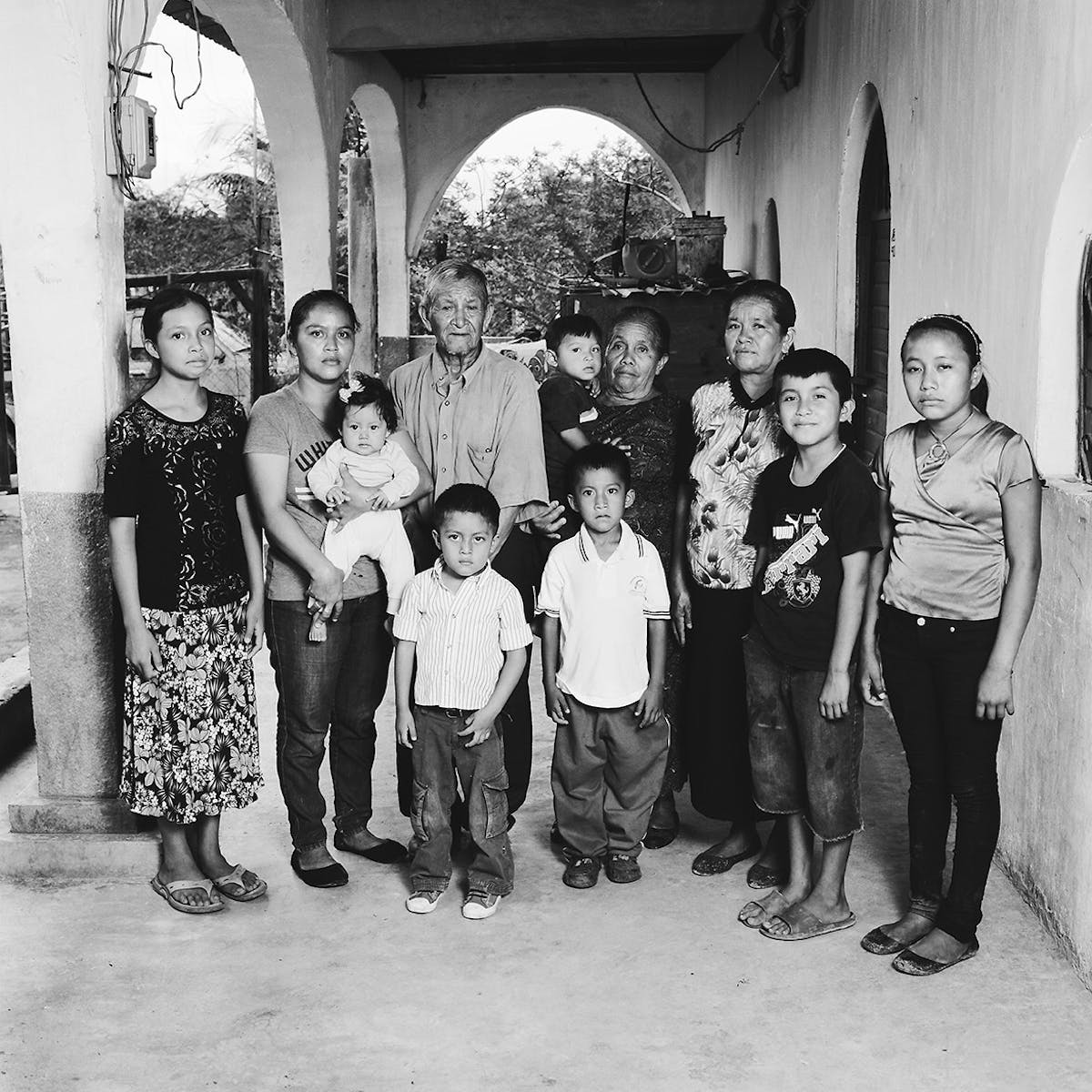 US and Mexico immigration: Portraits of Guatemalan refugees