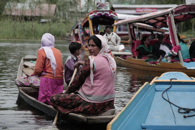 Life on the Dal Lake, Srinagar, Kashmir. Ben Crowe/ERA Films