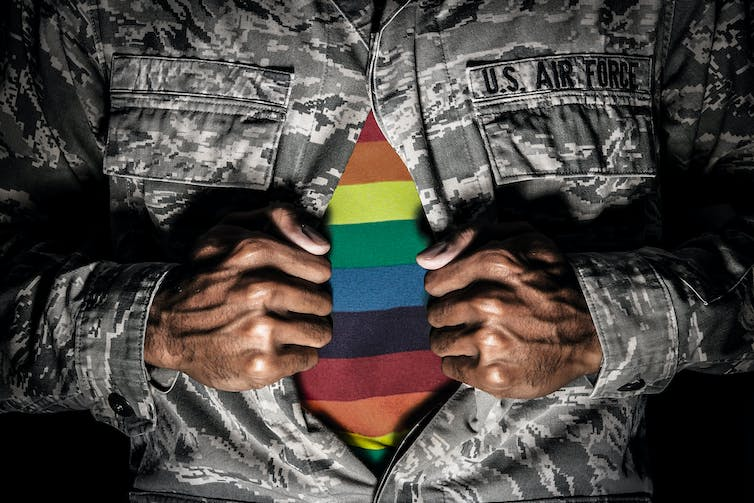 lgbt soldiers military social experiment history header photo