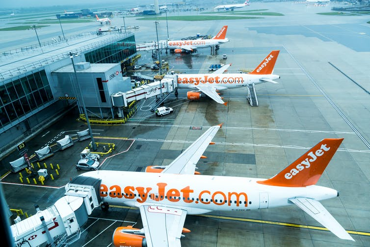 EasyJet is looking to cut its Brexit losses. shutterstock.com