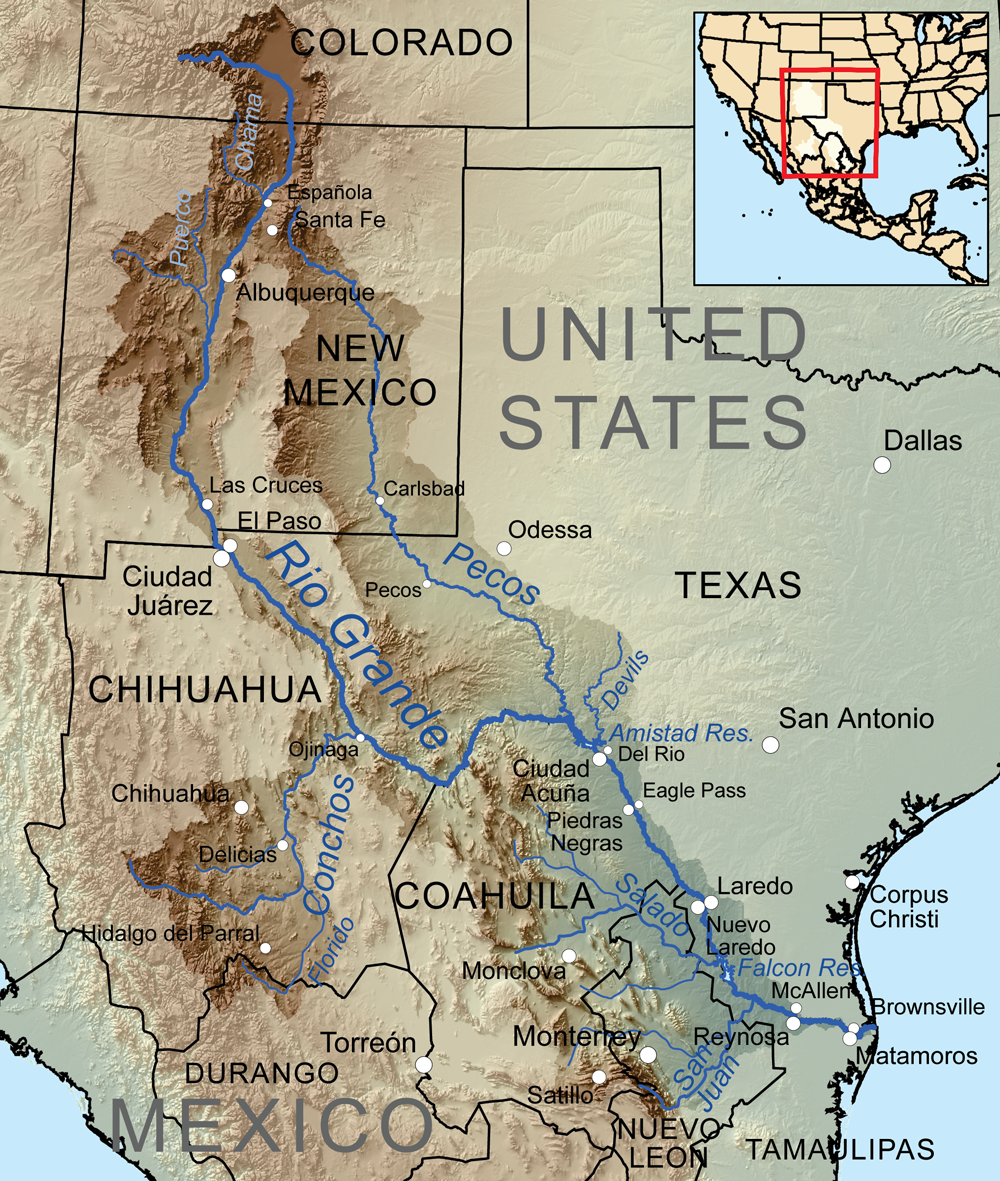 Heres a better vision for the USMexico border Make the Rio
