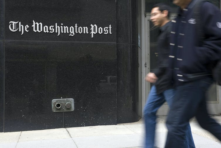 While there have certainly been positive aspects to Amazon CEO Jeff Bezos' purchase of the Washington Post, he's also opened up the broadsheet to charges of bias and conflict of interest.  Jonathan Ernst/Reuters
