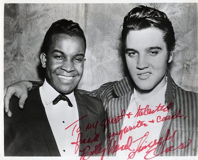Champion or copycat? Elvis Presley's ambiguous relationship