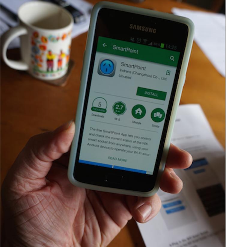 Samsung Phone Smartpoint App