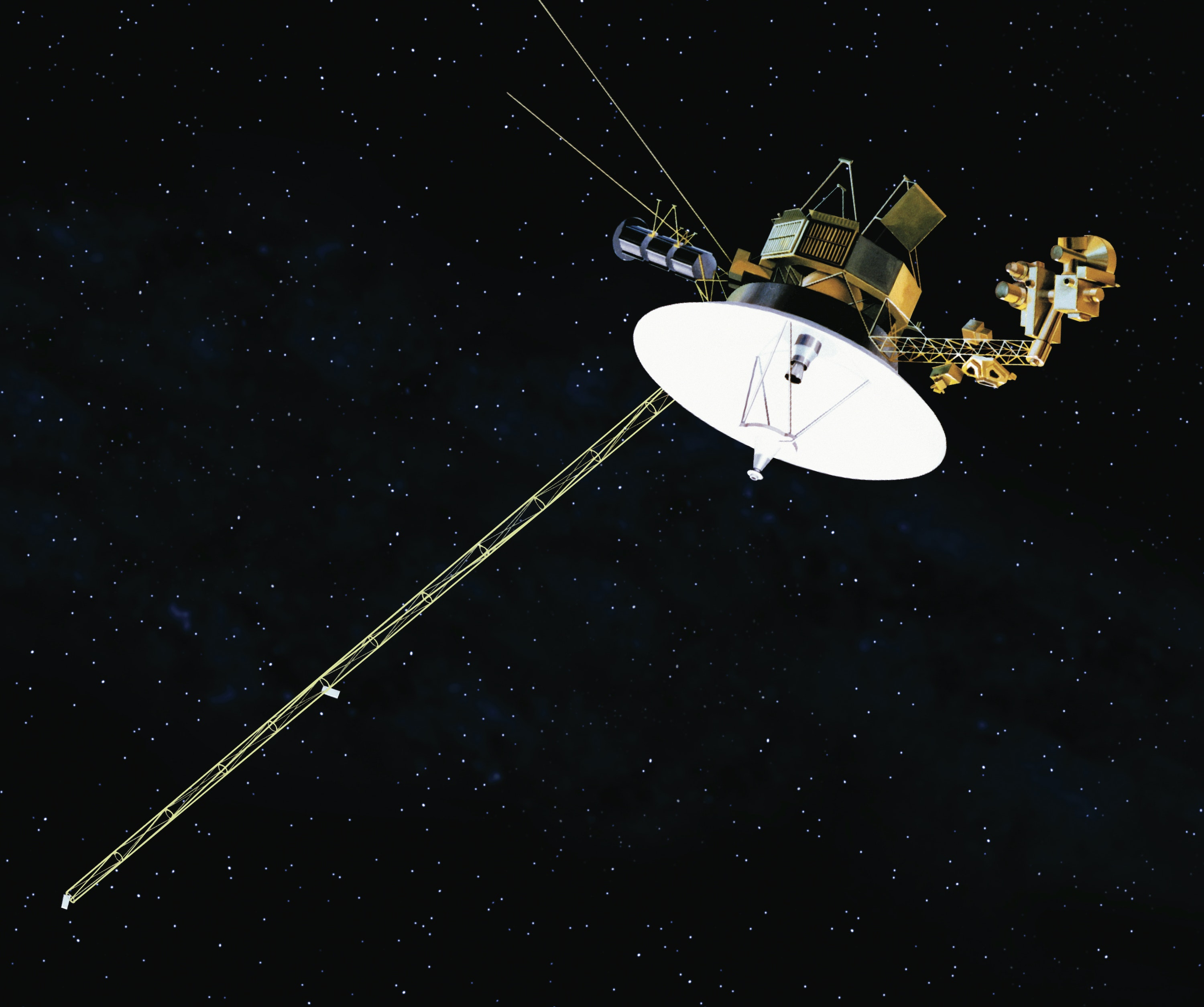space probe voyager - HD3000×2508