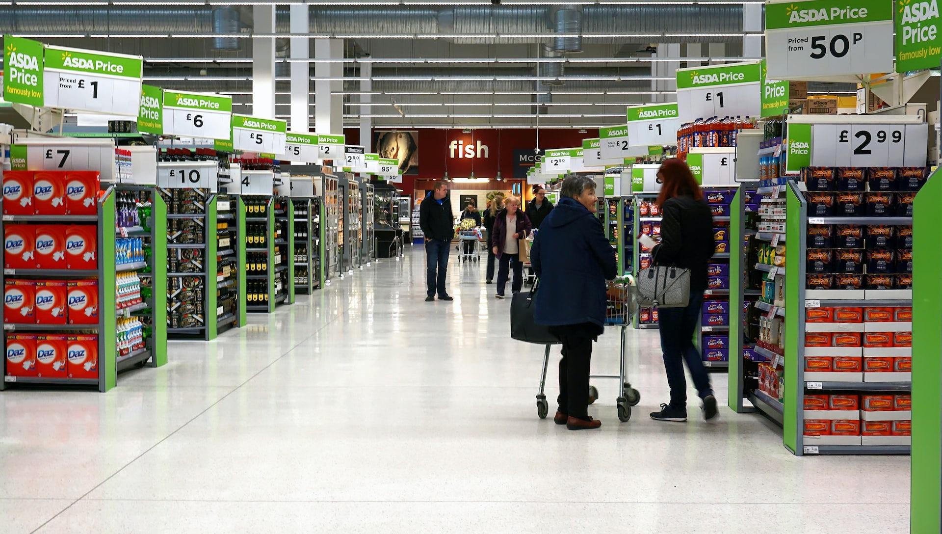 Leaflets supermarket uk