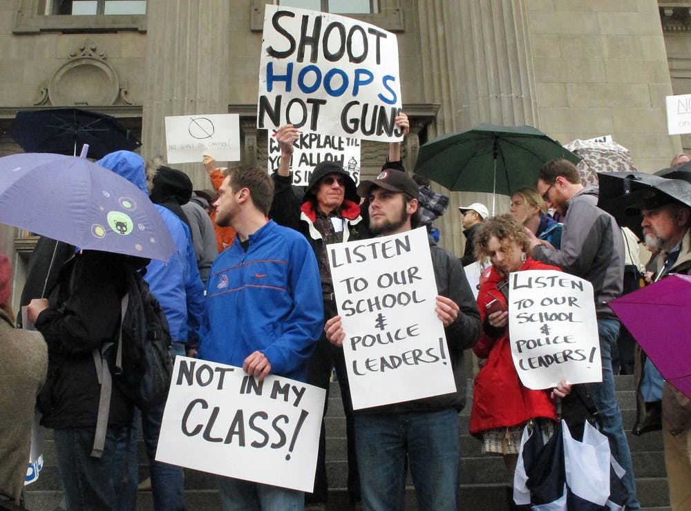why guns should be allowed on college campuses