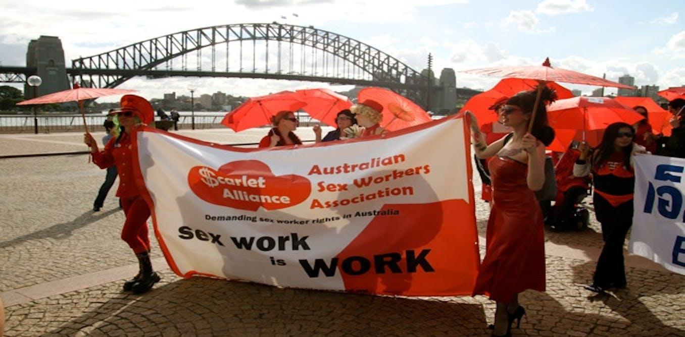 Online sex worker in Australia