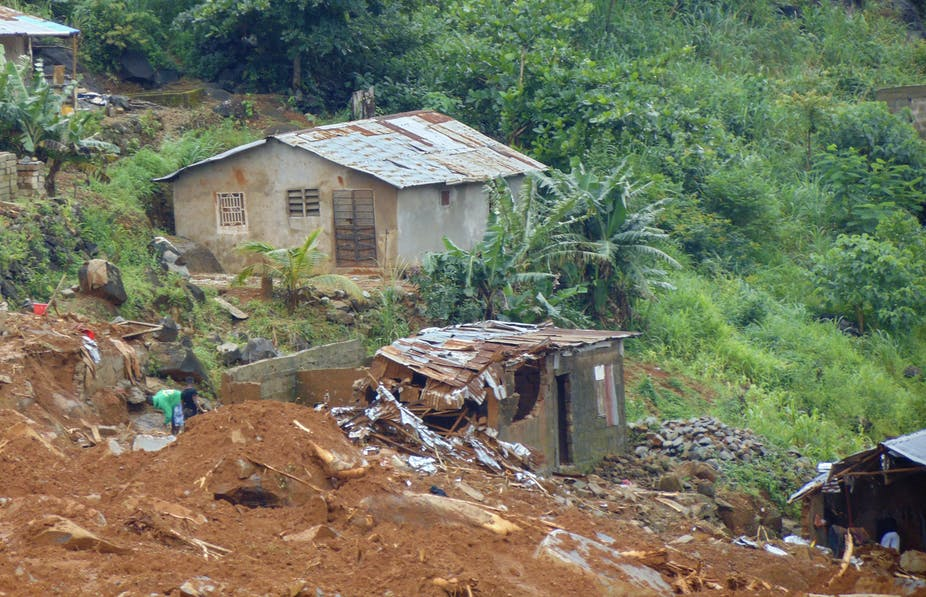 The Sierra Leone Mudslide Disaster Isn T Over Yet Here S What The World Must Do