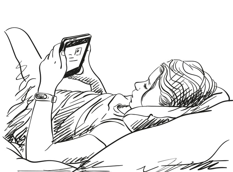 drawing-of-teen-on-social-media