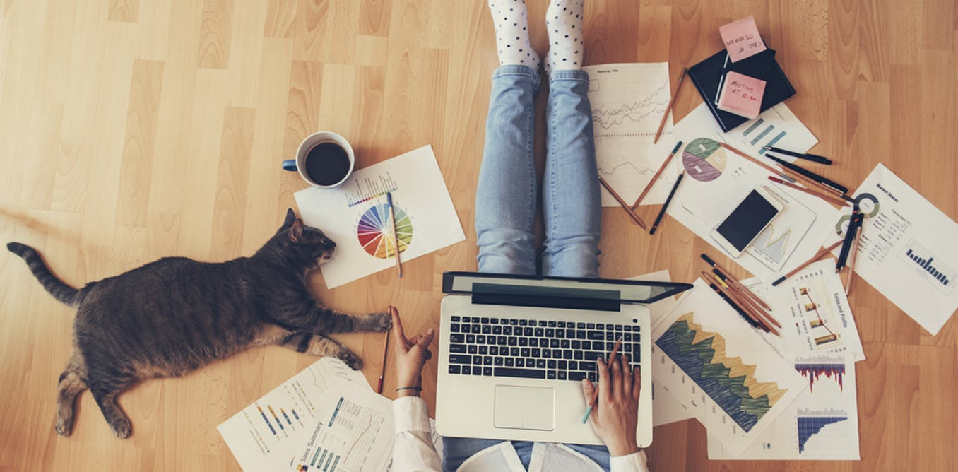 Why some people find it so hard to manage their time when working from home – and what to do about it