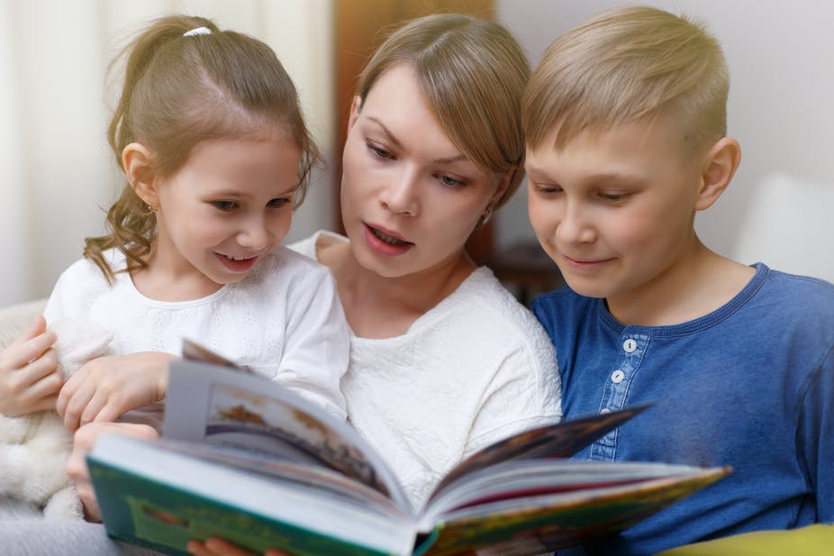 Research shows the importance of parents reading with children