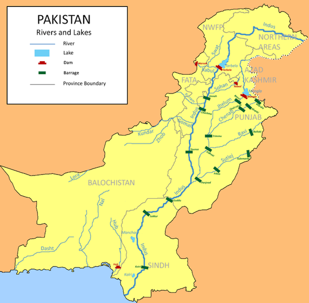 Pakistan relies on a huge underground reservoir – but it's polluted