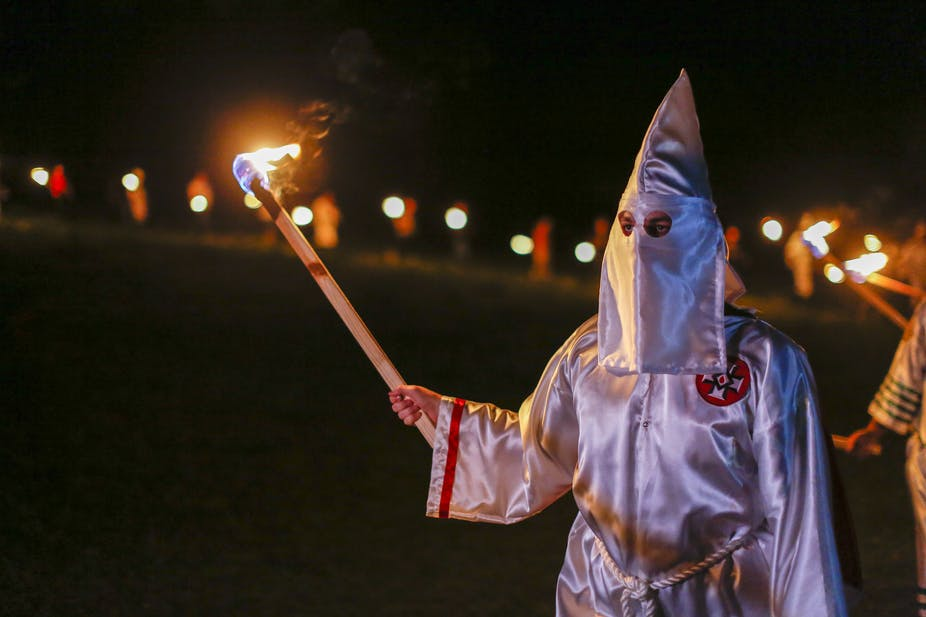 White supremacists are on the march, but the Ku Klux Klan is history