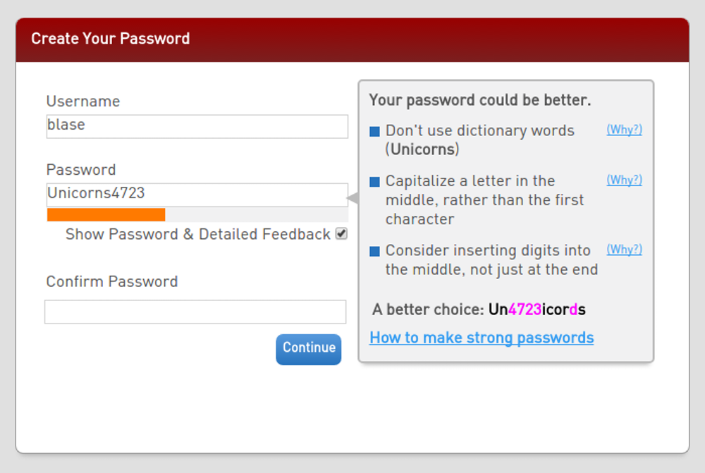 Choose better passwords with the help of science