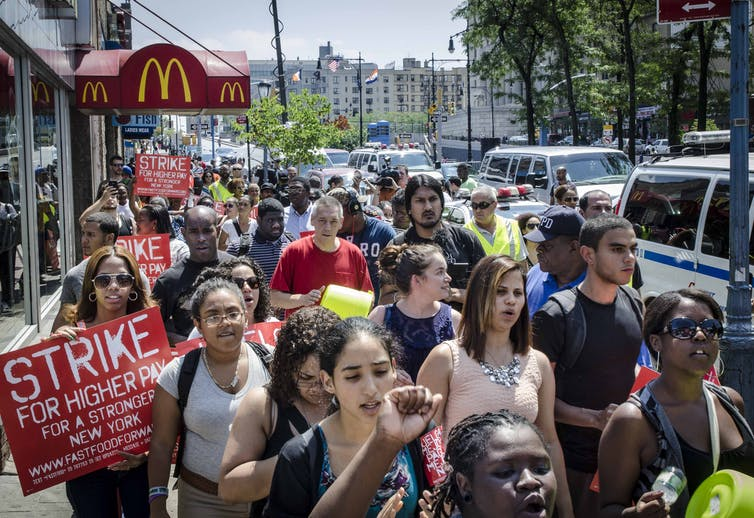 How striking McDonald's workers are taking on the fast food giant