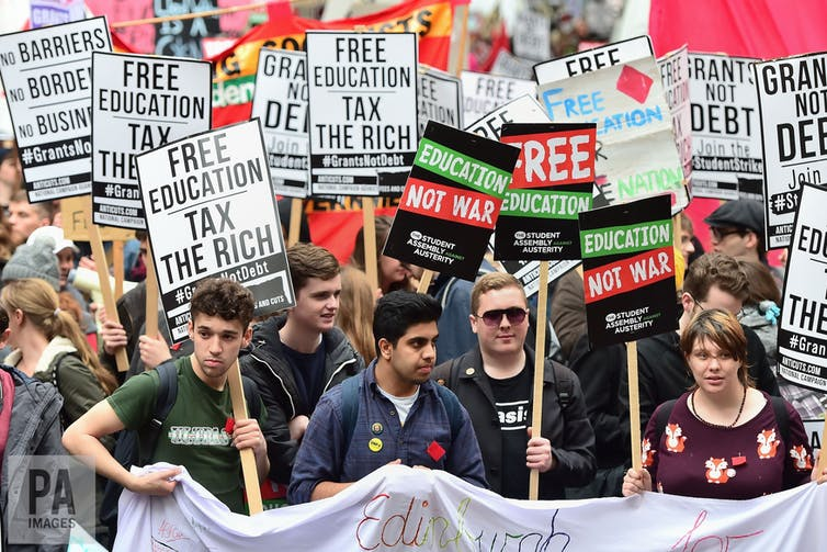 Missing from the tuition fees debate: student well-being and