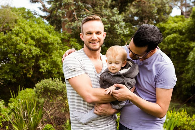 CHILDREN RAISED BY GAY COUPLES