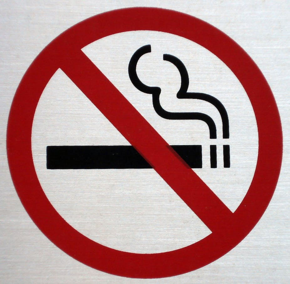 Anti smoking signs may cause people to reach for cigarettes buycottarizona Image collections