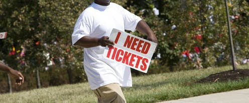 The economics of ticket scalping