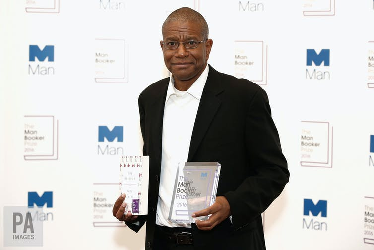 Paul Beatty the winner of the 2016 Man Booker Prize for his novel The Sellout.     PA