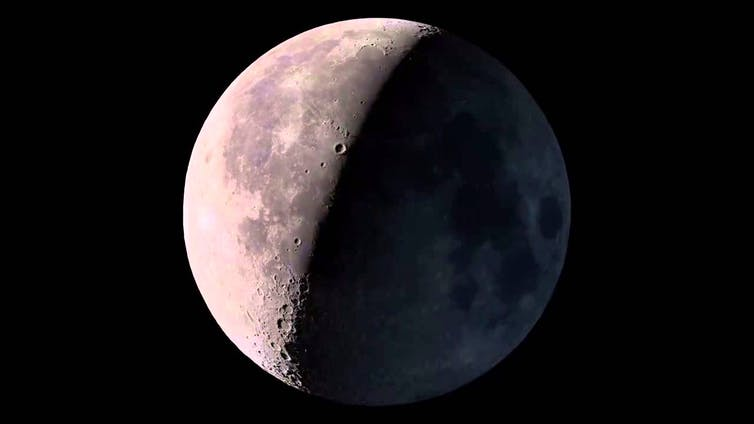 Curious Kids: Why can I sometimes see the Moon in the daytime?