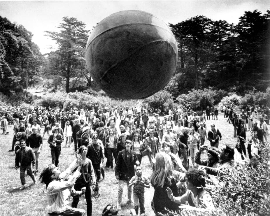 A Crowd At Golden Gate Park In San Francisco Celebrates Day One Of The Summer Love AP Photo