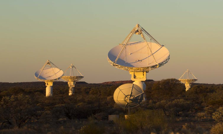 File 20170918 27032 1hvbst6Antennas of the Australian SKA Pathfinder (ASKAP) at CSIRO's Murchison Radio-astronomy Observatory in Western Australia. CSIRO, Author provided