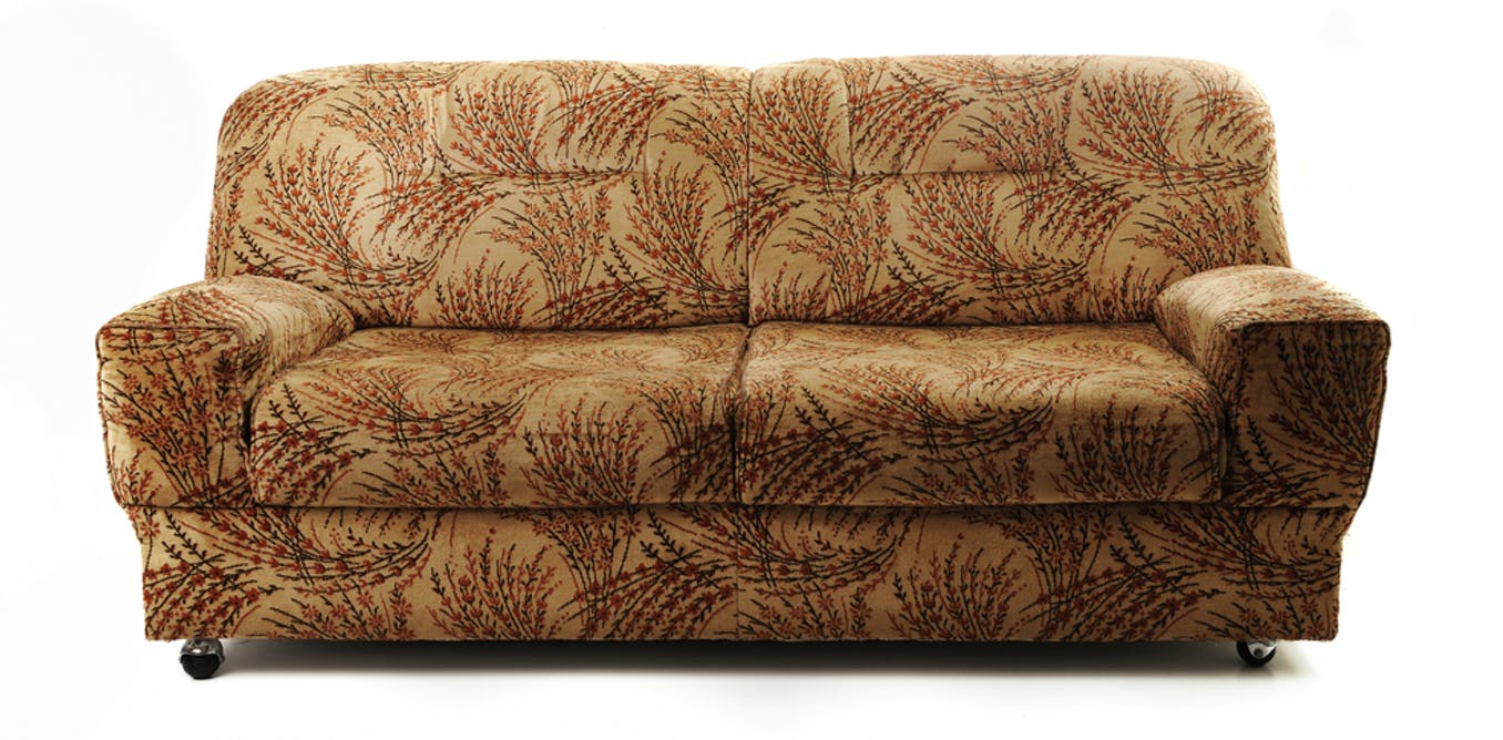 Tobacco-smoke residue that lingers in furniture, curtains