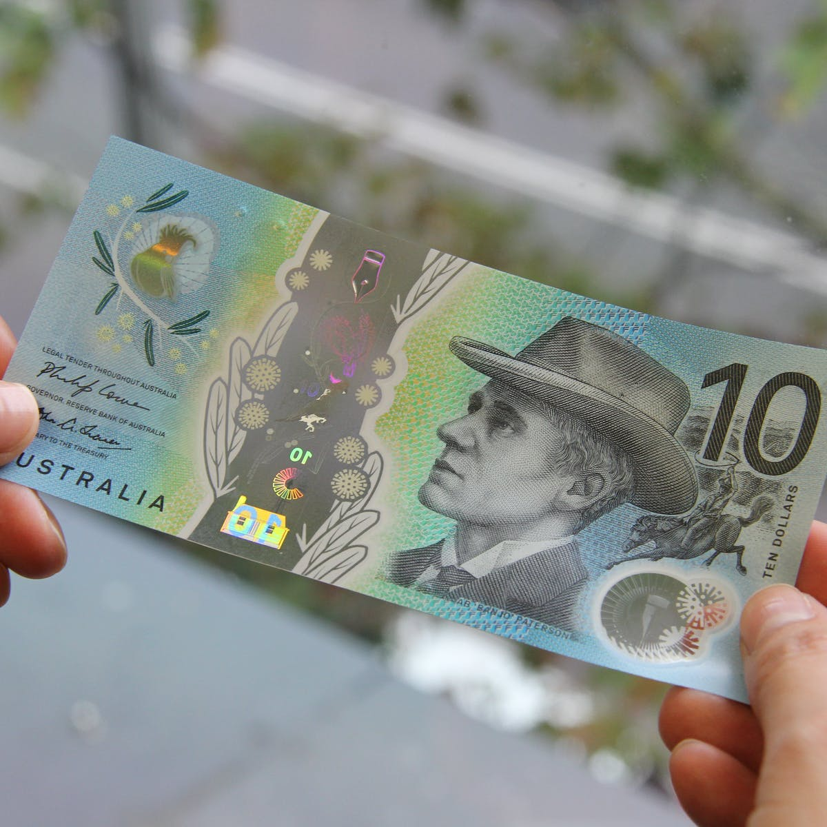 Beautiful But The New Ten Dollar Note