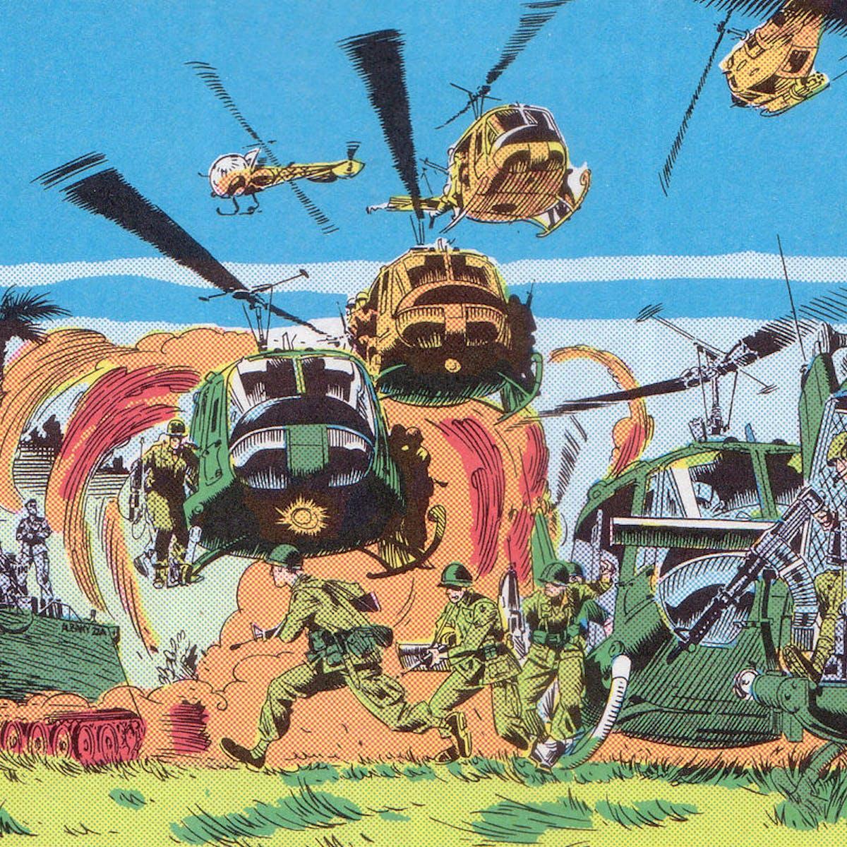 Comics captured America's growing ambivalence about the Vietnam War