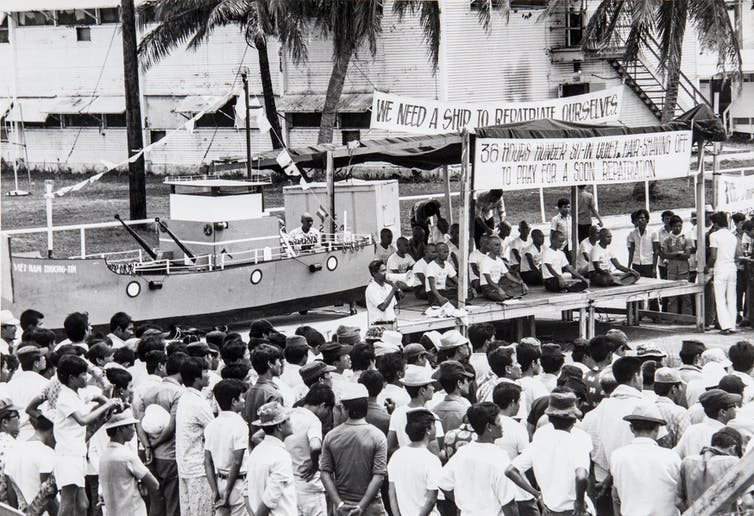 Forty years on from the fall of Saigon: witnessing the end of the Vietnam war