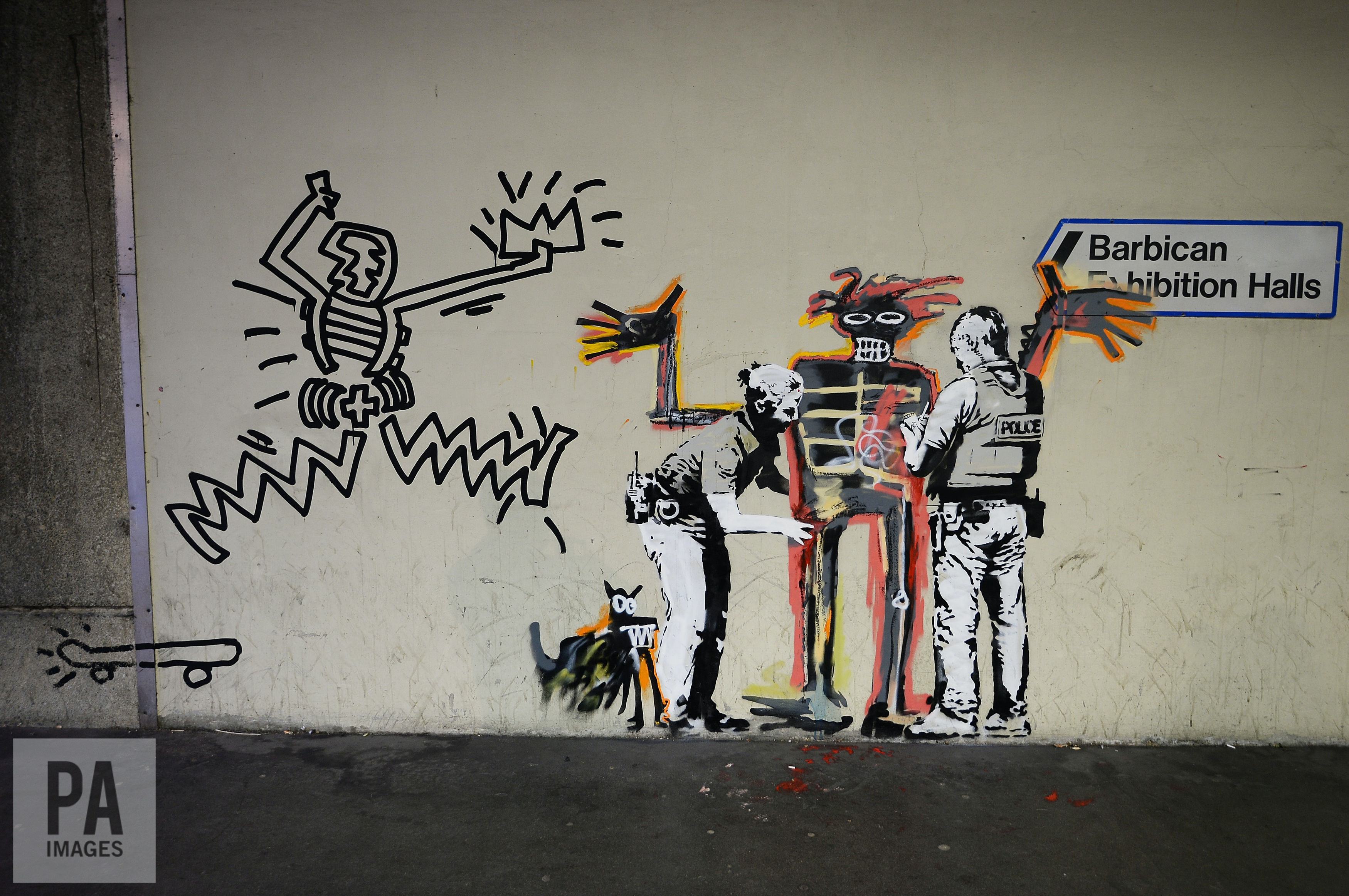 Banksy strikes again: Basquiat, graffiti, and the issue of copyright law