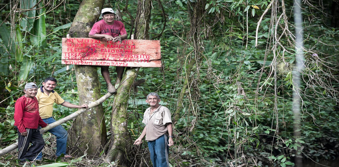 Why Amazonian forest peoples are 'counter-mapping' their ancestral lands