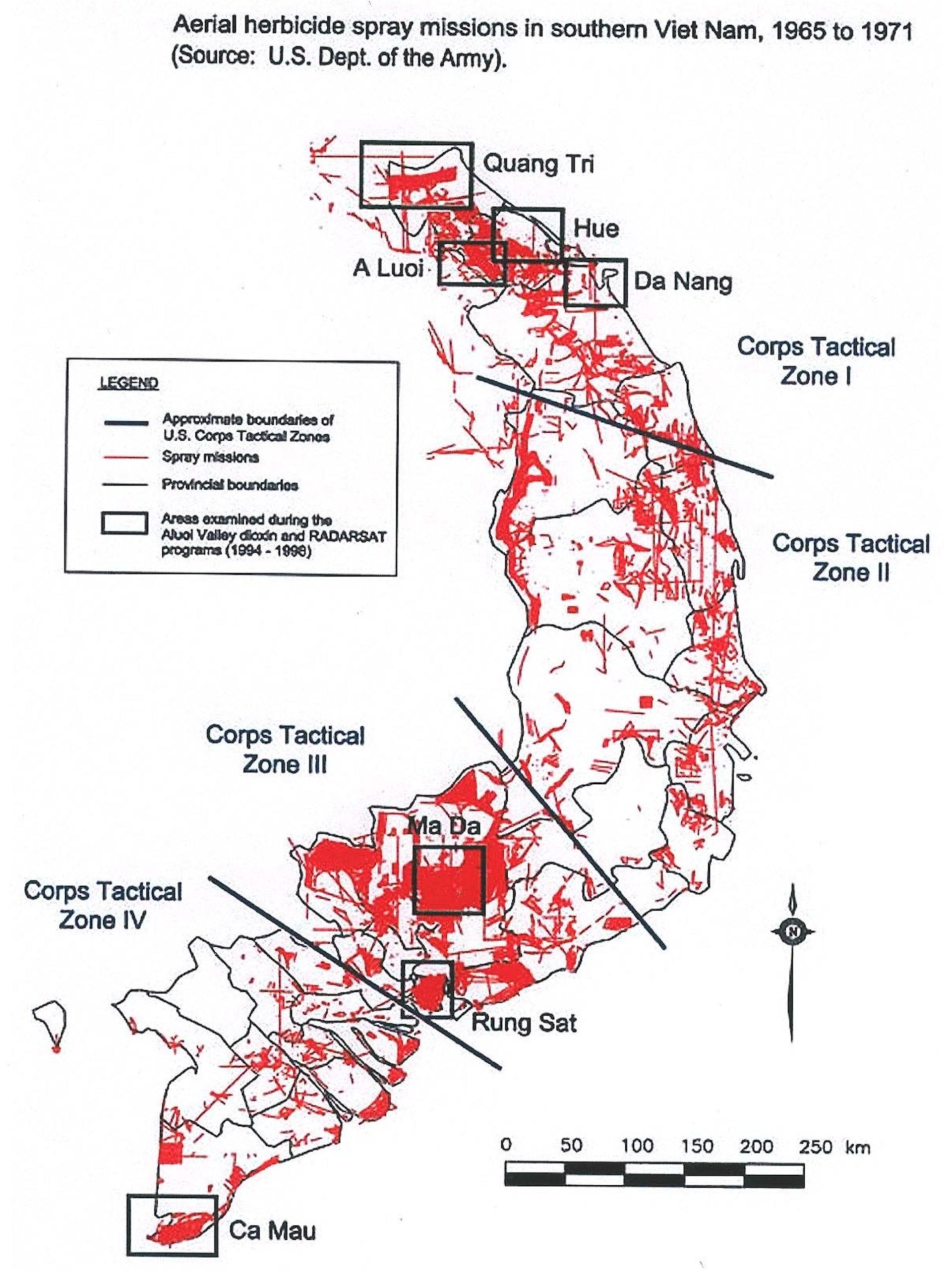 Map Of Asia During Vietnam War.Agent Orange Exposed How U S Chemical Warfare In Vietnam