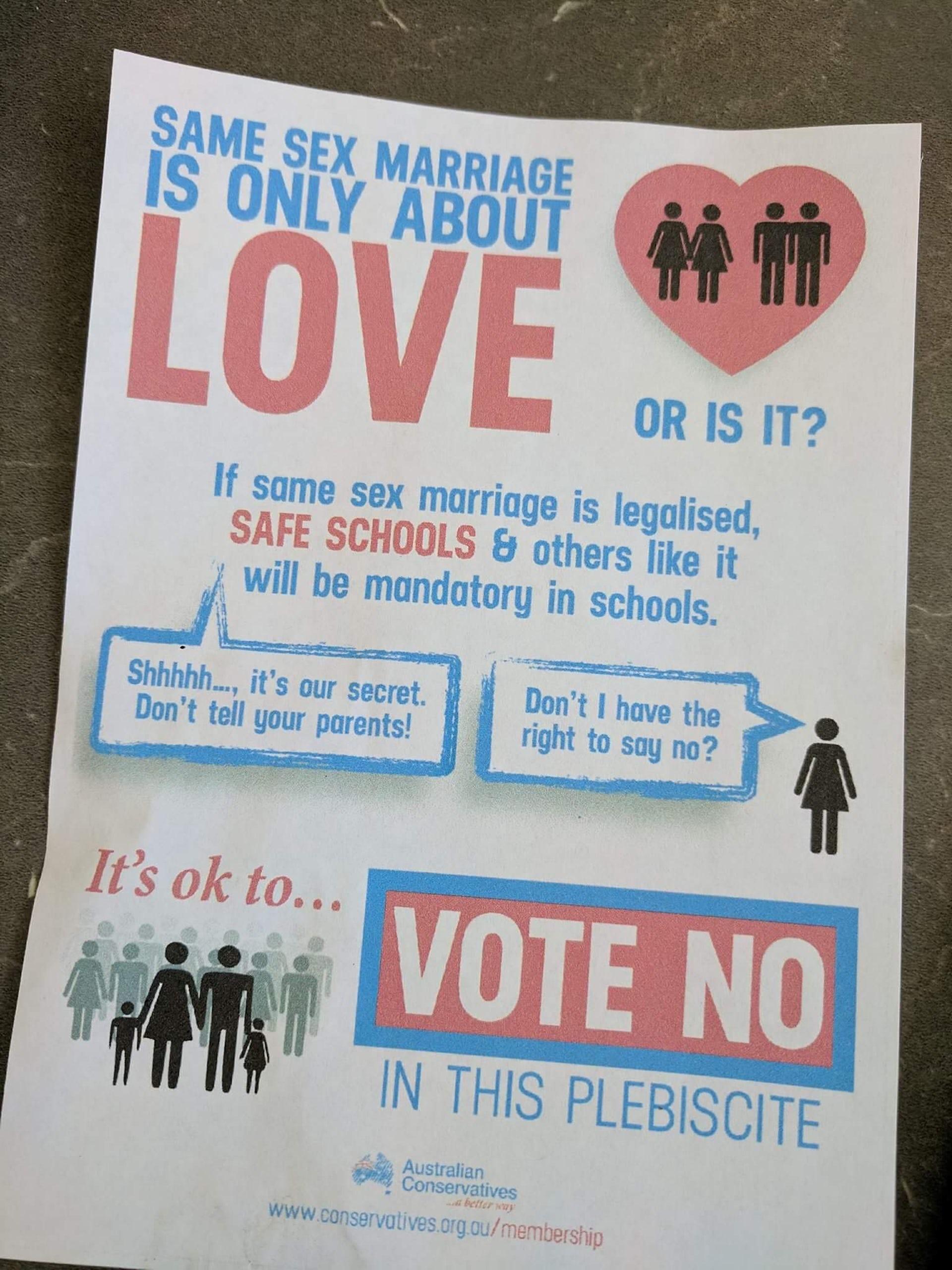Australian government sexual health campaign