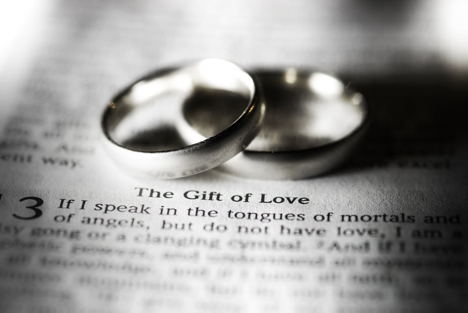 what does the pastor say when marrying a couple