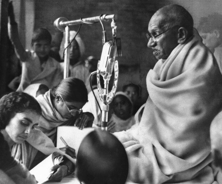What Gandhi can teach today's protesters